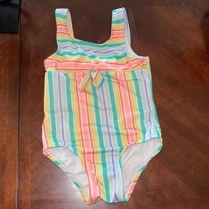 cat & jack size 4T one piece bathing suit